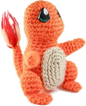 pokemon amigurumi Charmander