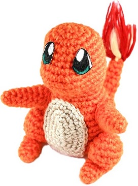 Crochet Charmander Pattern