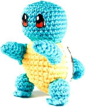 Crochet Squirtle Pattern
