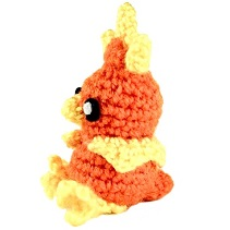 pokemon amigurumi torchic