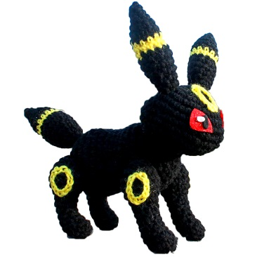 pokemon amigurumi umbreon