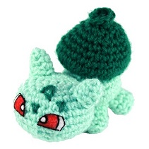 Crochet Bulbasaur Pattern