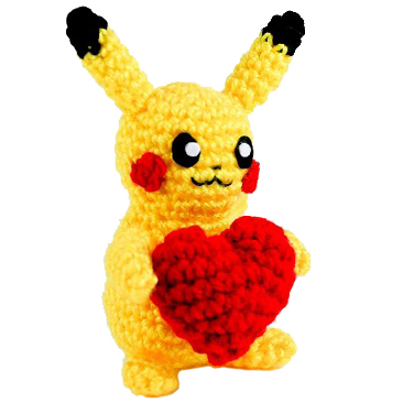 Pikachu » 53stitches » Free Amigurumi and Crochet Patterns and ... | 366x366