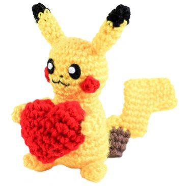 Pikachu Amigurumi Pattern