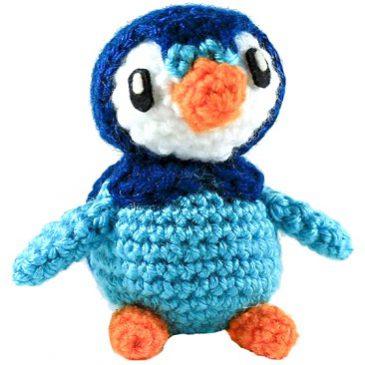 Mini Piplup Penguin Amigurumi Pattern