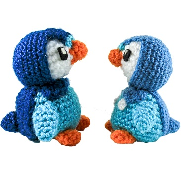 Mini Piplup Penguin Amigurumi Pattern Strings Away