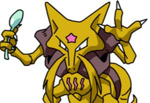 Pokemon Move Types - Kadabra