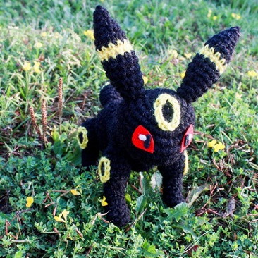 ppokemon amigurumi umbreon