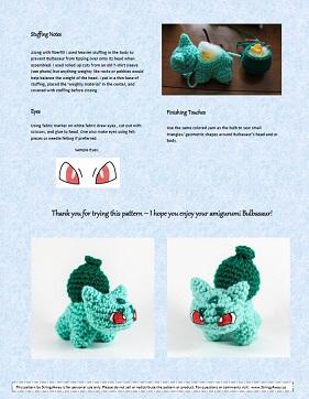 Patrón amigurumi de Pikachu | Patrones amigurumi, Amigurumis ... | 362x281