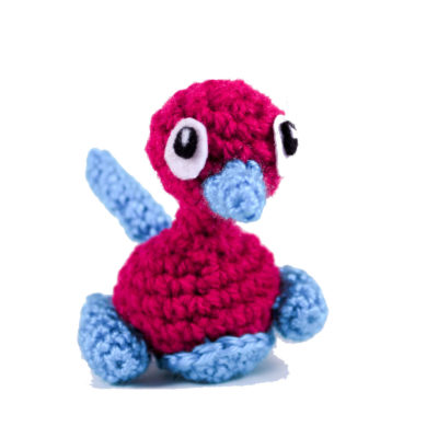 Pokemon Amigurumi Porygon 2