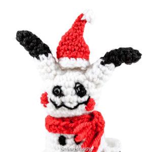 Christmas Crochet Mimikyu