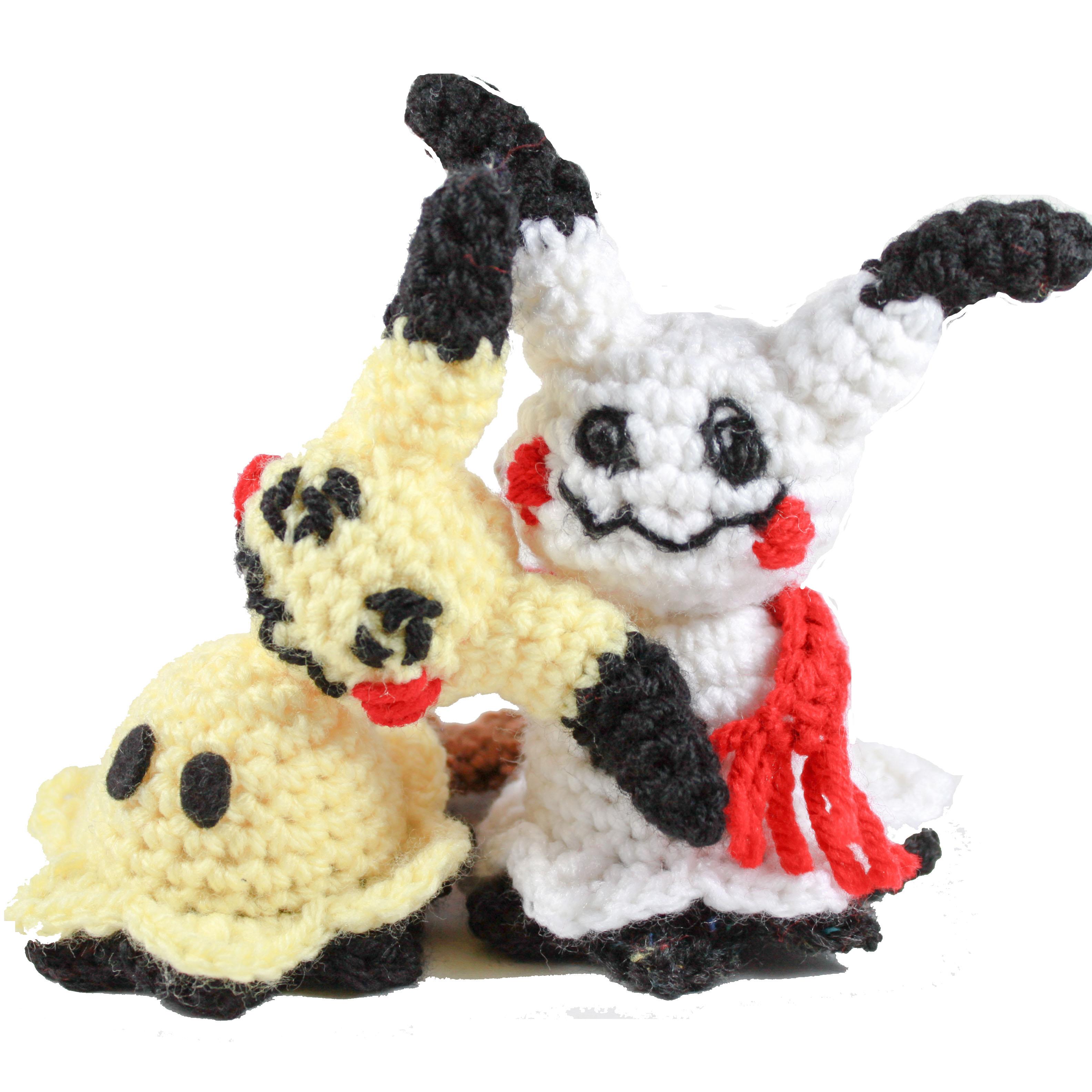 Crochet Mimikyu Pattern