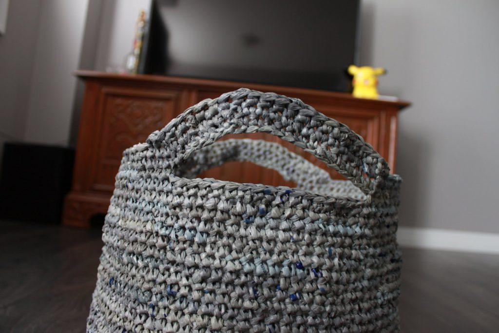 Plarn Basket