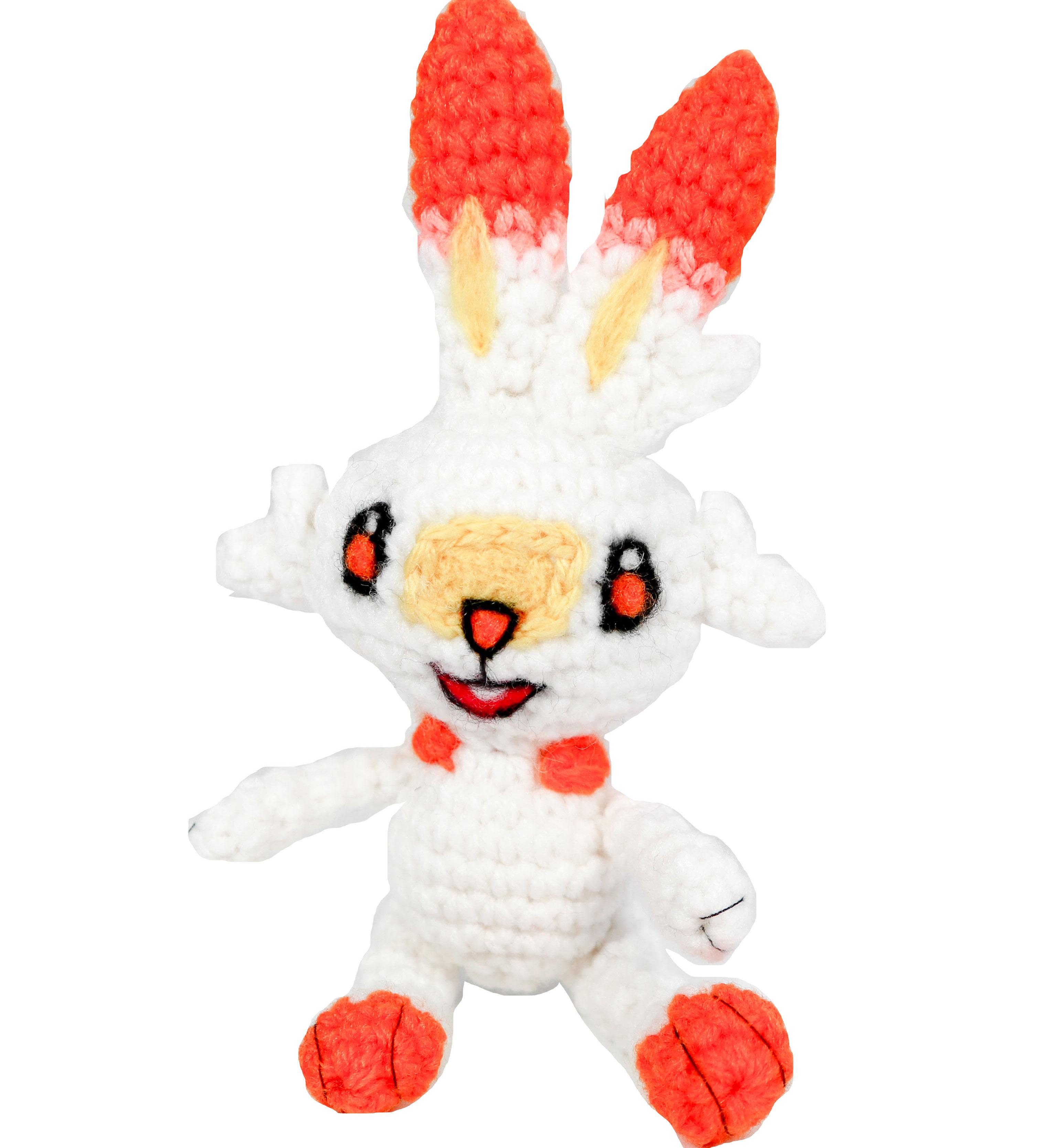 Crochet Scorbunny Pattern