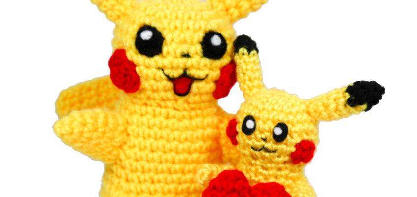 Jumbo Mini-Pikachu Amigurumi Pattern