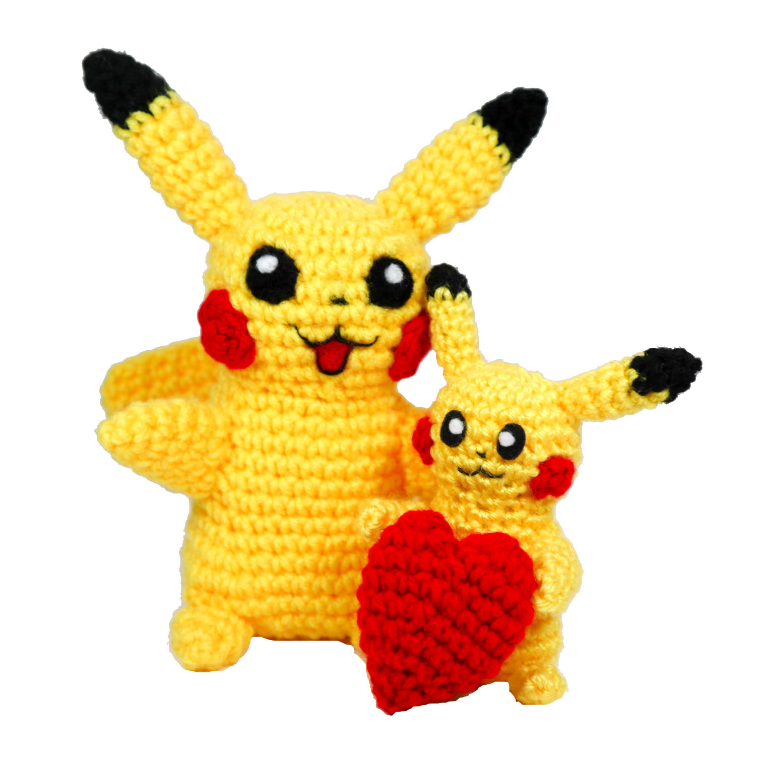 bébé pikachu tout mignon | Crochet pikachu, Confection au crochet ... | 1508x1508