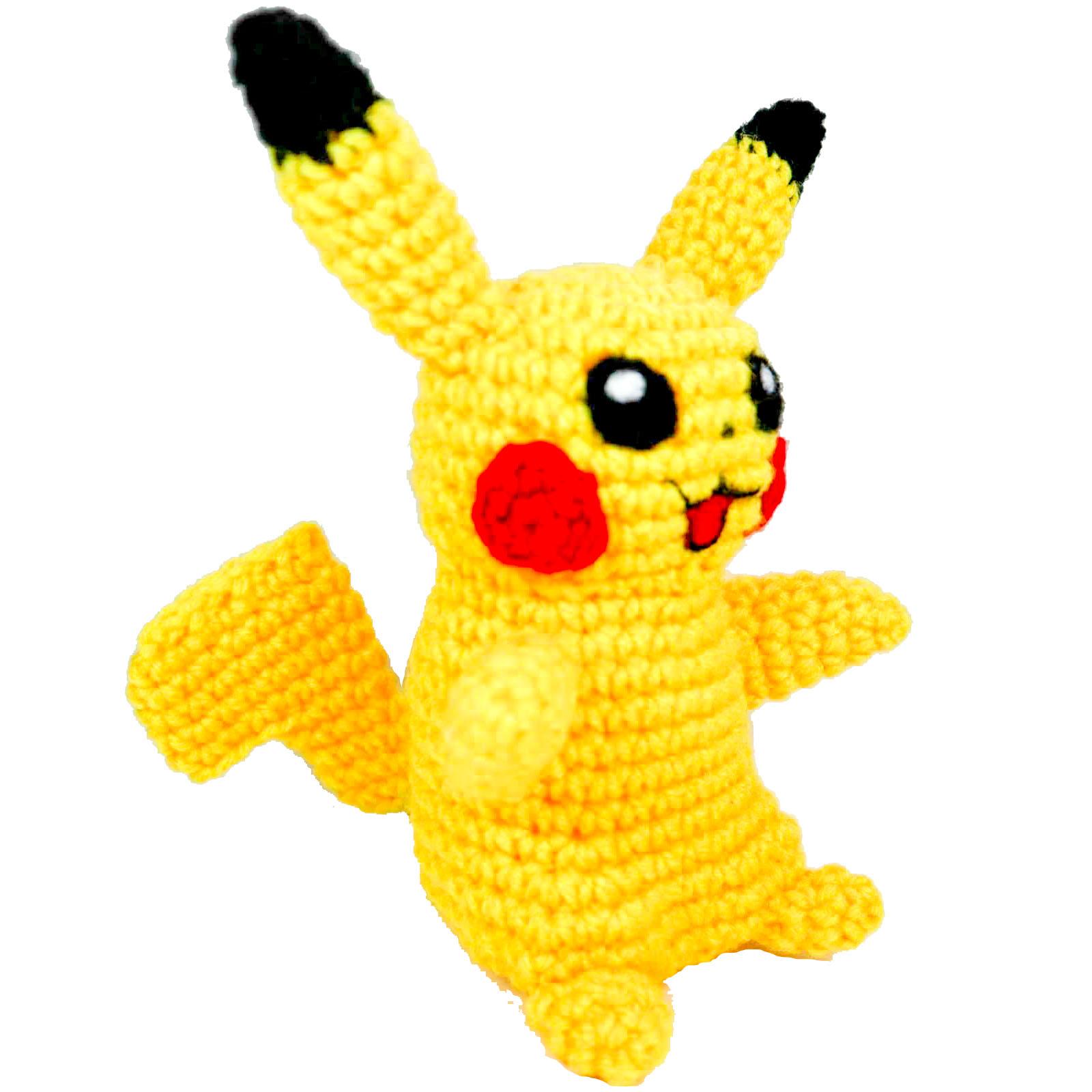 pokemon amigurumi pikachu big and small