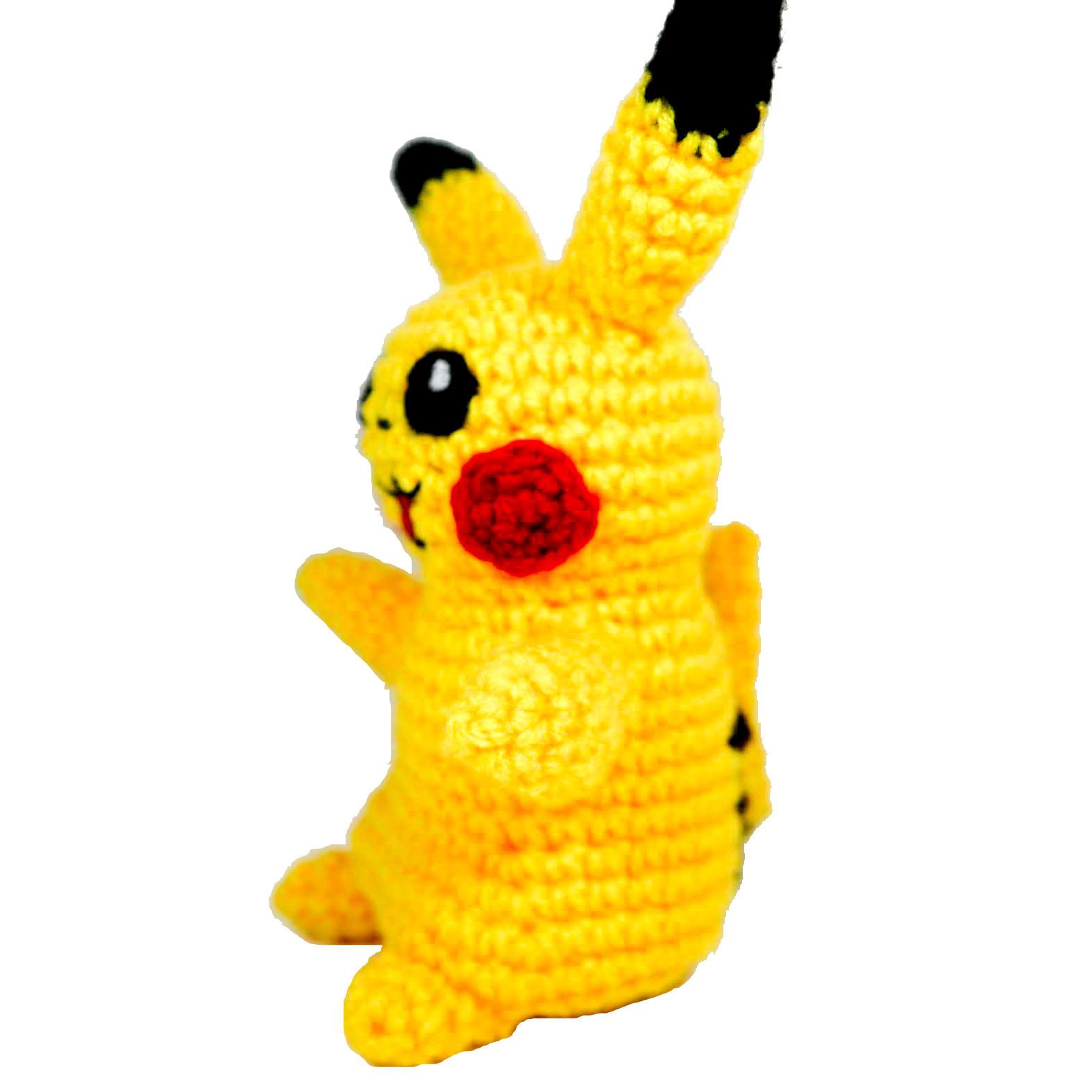 pokemon amigurumi pikachu