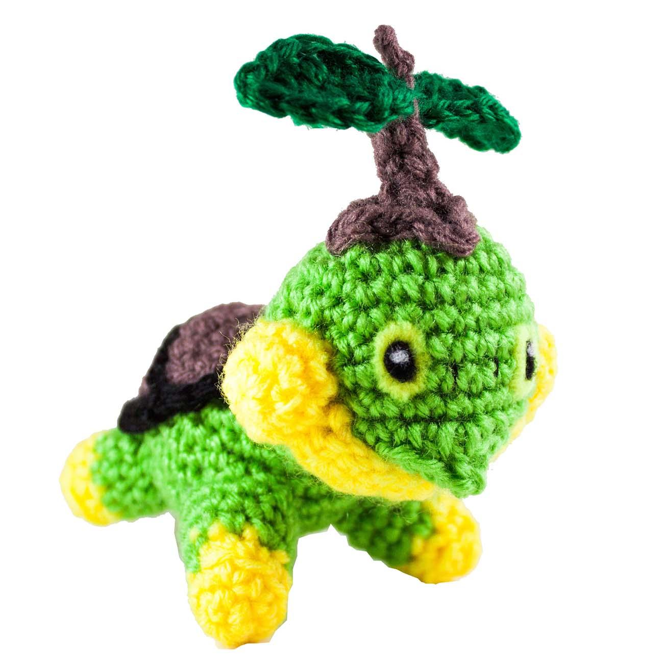Crochet Turtwig Pattern