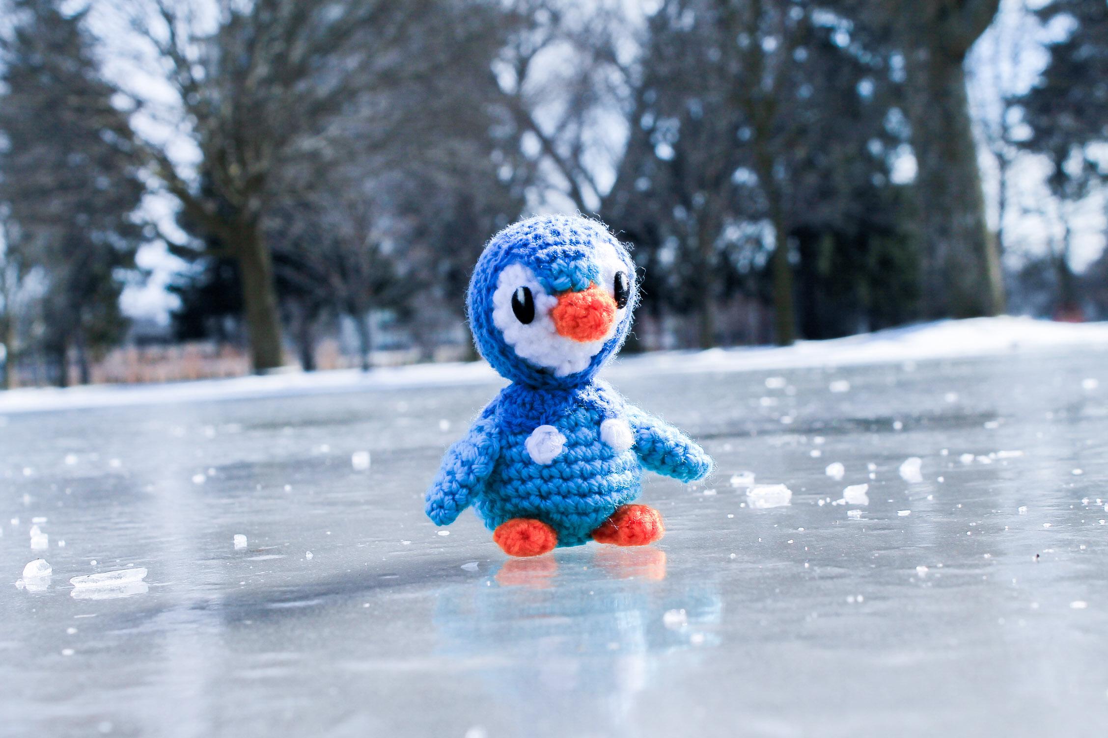 Piplup Crochet Amigurumi