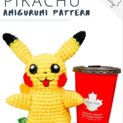 Premium Pattern – Jumbo Pikachu Amigurumi