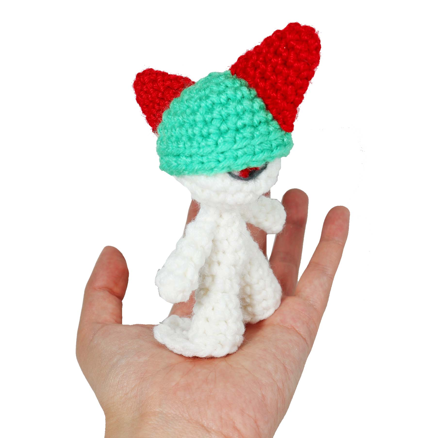Crochet Ralts Free Pattern
