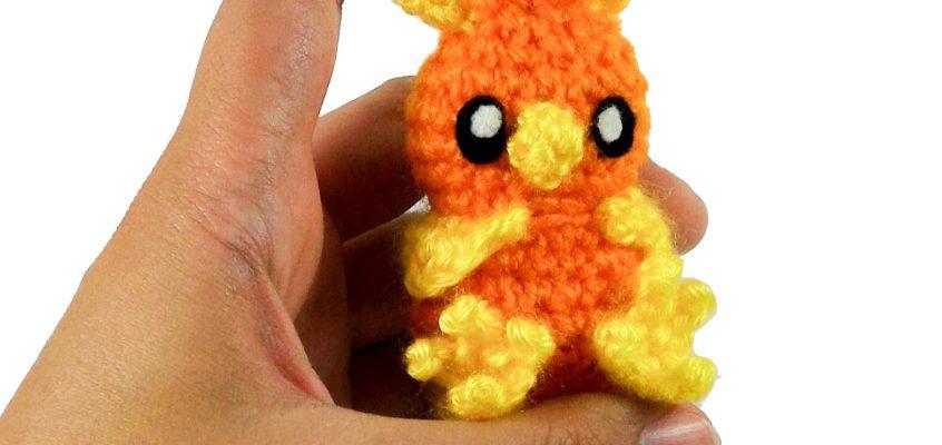 Crochet Torchic Amigurumi – Free Pattern
