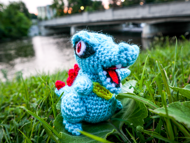 Totodile Crochet Amigurumi