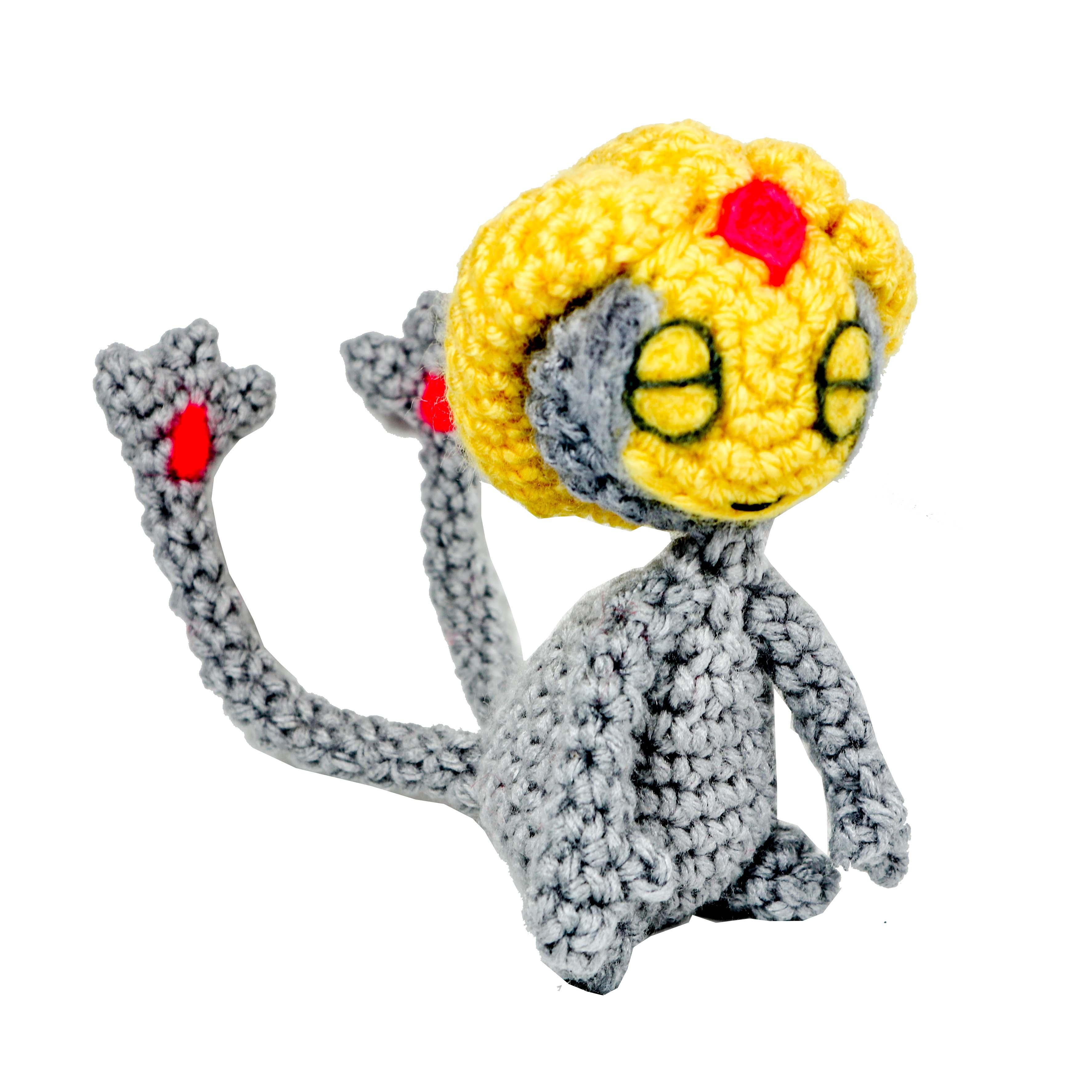 pokemon amigurumi Uxie