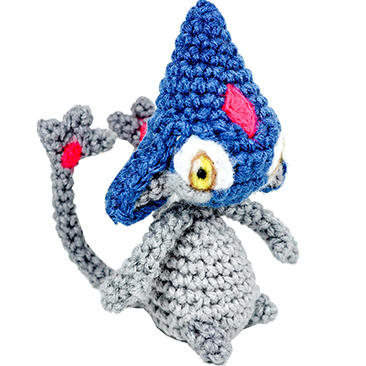 pokemon amigurumi Azelf