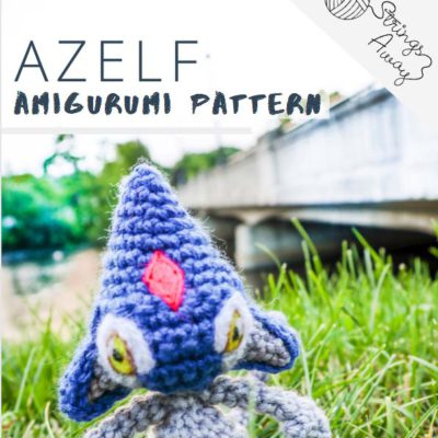 Azelf Pokemon Amigurumi- Premium PDF Pattern