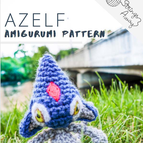 Pokemon Amigurumi Pattern Azelf