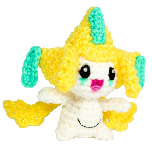 pokemon amigurumi Jirachi