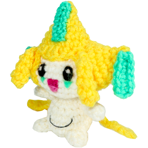 Crochet Jirachi Tags
