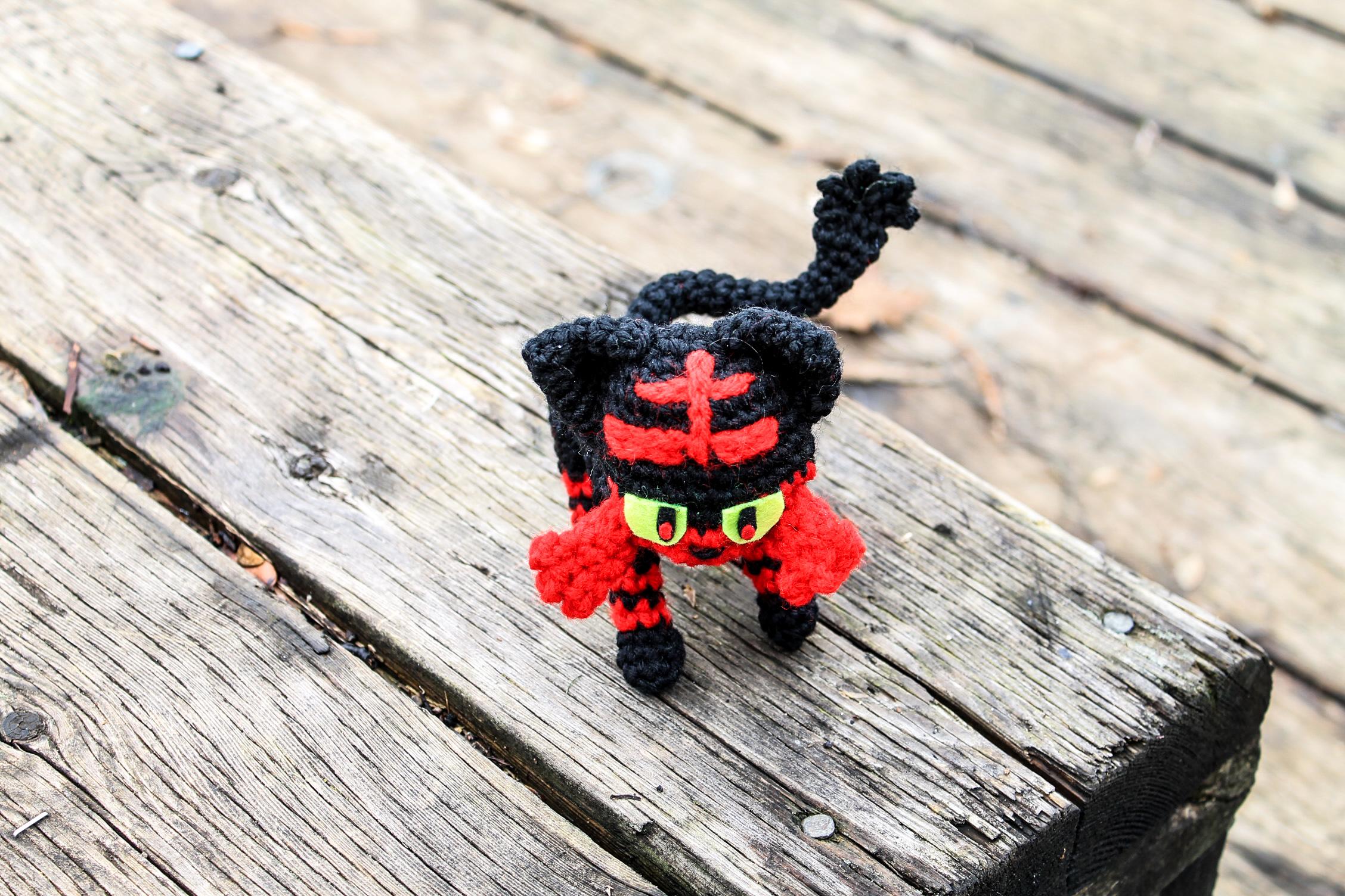 Litten Crochet Amigurumi