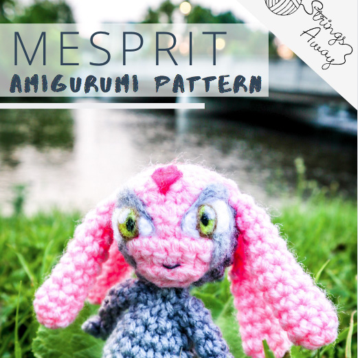 Pokemon Amigurumi Pattern Mesprit