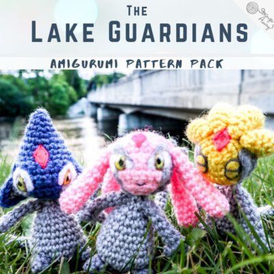 Lake Guardians Amigurumi Pattern Package