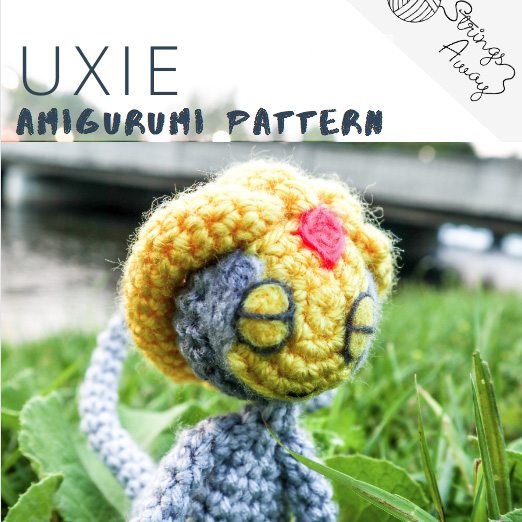 Pokemon Amigurumi Pattern Uxie