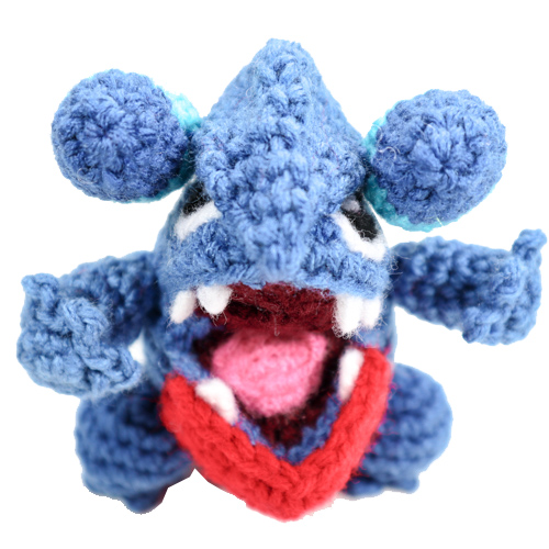pokemon amigurumi Gible
