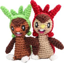 Chespin Pokemon Amigurumi Pattern