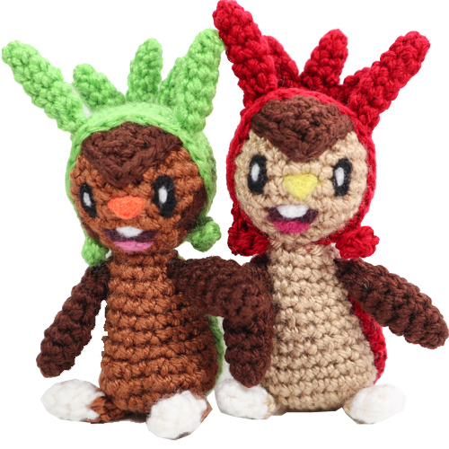 Chespin Pokemon Amigurumi Pattern