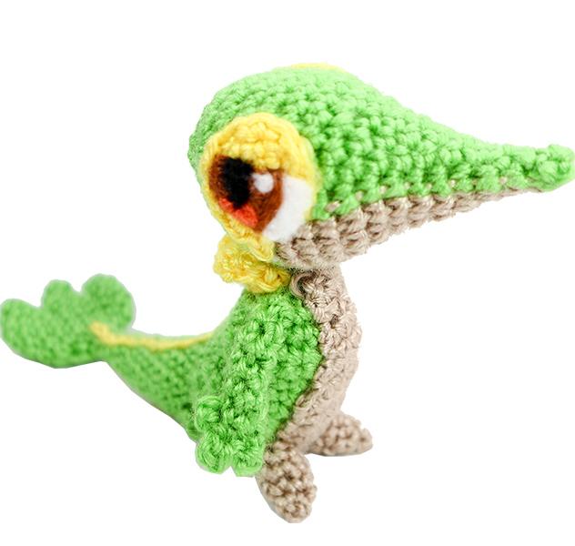 Crochet Snivy Pattern
