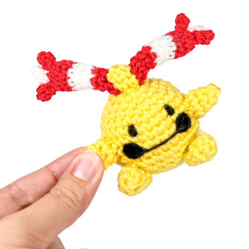 Chingling Pokemon Amigurumi Pattern