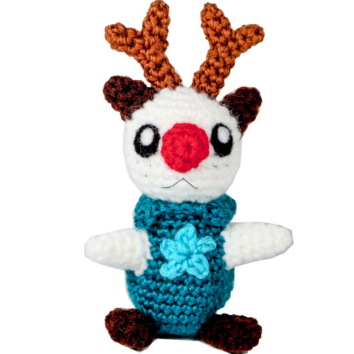 Oshawott the Otter Reindeer