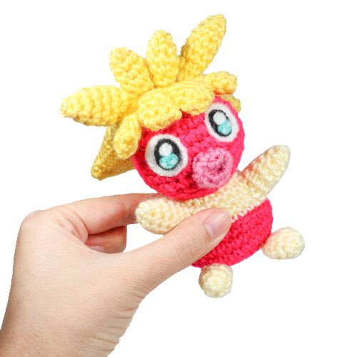 Smoochum Crochet Amigurumi