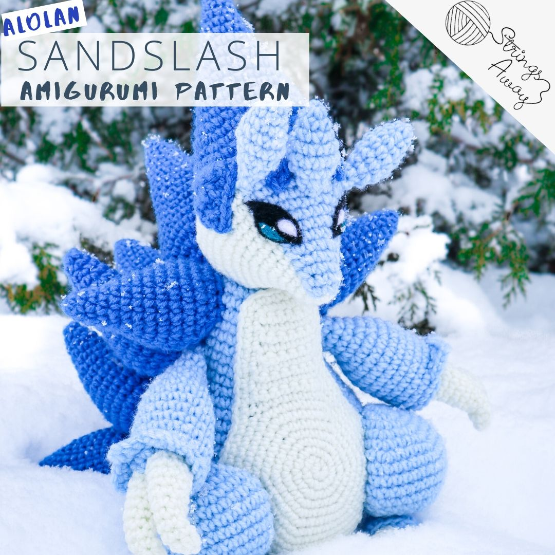 Pokemon Amigurumi Pattern Sandslash