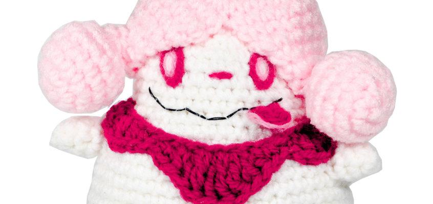 Slurpuff Pokemon Amigurumi Pattern