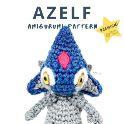 Azelf Pokemon Amigurumi- Premium PDF Pattern