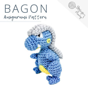 Pokemon Amigurumi Pattern – Bagon