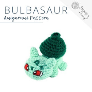 Pokemon Amigurumi Pattern – Bulbasaur
